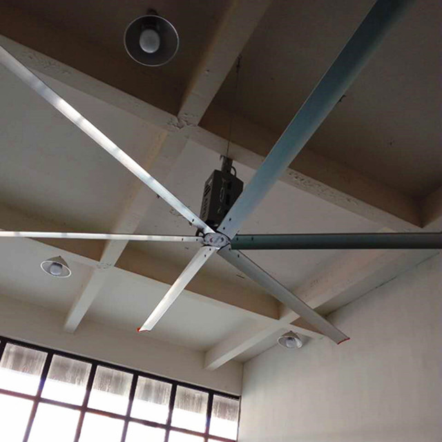 Variable Frequency Big Air Ceiling Fan , Air Cool Modern Industrial Ceiling Fan
